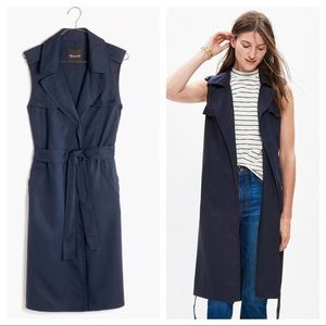 Madewell Vest Trench Jacket